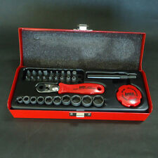 ANEX Conpact Bit Ratchet Screwdriver SET 525-28B Made in Japan