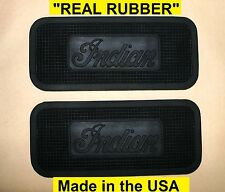 Indian Motorcycle Hedstrom Pedaling Model Footboard Mat Set ***REAL RUBBER***