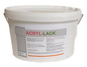 Acryl Lack Seidenglanzend Antrazitgrau 5 Liter