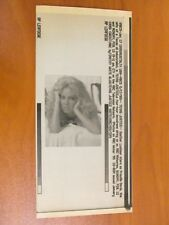 Vtg AP Wire Press Photo Actress Heather Locklear Stars in Texas Justice 1/17/95
