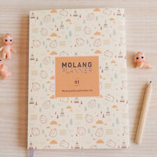 [ ] Cloud orange 2016 ~ 2017 molang planificateur ver.1 Diaries kawaii agenda organisateurs