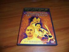 Crouching Tiger, Hidden Dragon (Dvd, 2001 Widescreen)