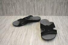**Spenco Kholo Slide Sandals, Women's Size 8W, Black