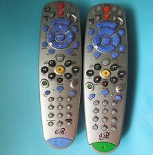 2 DISH NETWORK 5.0 #1 & 6.0 #2 IR UHF PRO REMOTE CONTROL 625 522 942 DVR PVR