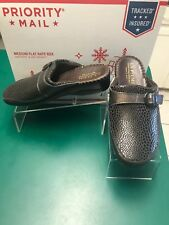 La Plume Italy Size US10 Eur41 Brown/Bronze Leather Buckle Anti-Shock Mule Shoes