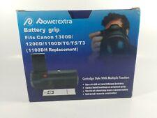 Battery Grip For Canon EOS 1100D 1200D 1300D Rebel T3 T5 T6 Camera LP-E10 Holder