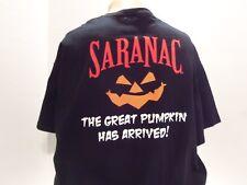 Saranac Pumpkin Ale (The Great Pumpkin) T-Shirt(Xl)Black-2 Sided- Rare