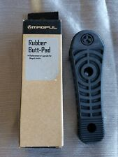 Magpul MAG317-BLK Tactical Black Rubber Enhanced Buttpad For Rifle Stocks