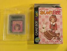 Kisekae Series 2: Oshare Nikki ~ in Box (Nintendo Game Boy Color GBC 2001) Japan