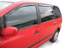 DVW31129 VW SHARAN mk1 1995-2010 wind deflectors 4pc Internal Fit TTINTED HEKO