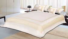 Indian Silk Bed Cover Bed Sheet Cushion Cover 5 PCs Bedding SET