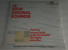 12 NEW CHORAL SOUNDS Norman Luboff The Beatles Vinyl SEALED Record Lawndale High