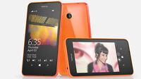 BRAND NEW MICROSOFT NOKIA LUMIA 635 WINDOWS 8GB 4G LTE ORANGE SMART PHONE UNLOCK