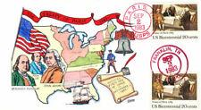 #2052 Treaty of Paris Collins FDC