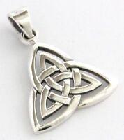 Keltischer Trinity Anhänger Silber Gothic Schmuck - NEU