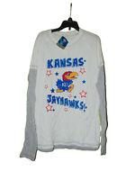 Kansas Jayhawks Long Sleeve T-shirt Large Women New