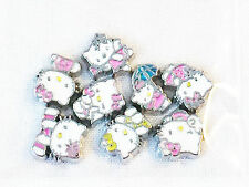 Hello Kitty 8pc Floating Charm Set for Living Owl Memory Locket Character Charms
