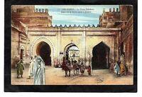 cpa Maroc FEZ-DJEDID - La Porte Dekakene (1923)