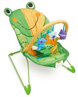 Fantastic Frog Baby Bouncer Rocker Chair With Soothing Music , Vibrations & Toys