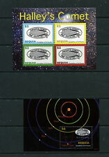 St. Vincent/Bequia  2007 #413-4  space comets planets    sheets  MNH  F732