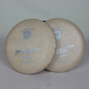 Discmania D-Line P2 Matching Pair 176G 174G White With Blue Stamp Used No Number