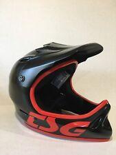 TSG Full Face MTB Enduro Downhill Bicycle Helmet For Kids Black XS (52-53cm)