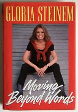 MOVING BEYOND WORDS by Gloria Steinem SIGNED Autographed Limited Edition Ms. Mag