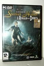 LE AVVENTURE DI SHERLOCK HOLMES GIOCO USATO PC DVD VERSIONE ITALIANA FR1 43530