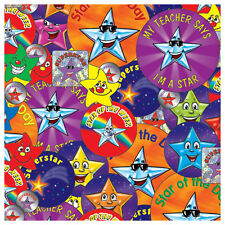 CP17 - Pack of 891 Mixed Star & Superstar Stickers Primary Teaching Services