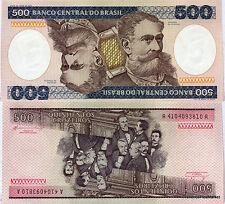 Billet Brésil,  500 Cruzeiros,1985  type M. Deodoro Da Fonseca Pick 200b