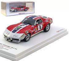 Truescale Chevrolet Corvette ZL1 #4 'NART' Le Mans 1972 - Heinz/Johnson 1/43