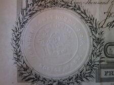 ANTIQUE ODD FELLOWS IOOF 3rd DEGREE 1882 1843 EMBOSS BOSTON MA SKULL HEART SNAKE