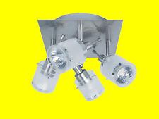 Paulmann Nice Price 3697 LED Deckenlampe Deckenleuchte 4er Spot GU10 warmweiss