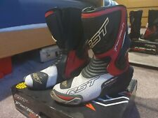 RST SIZE 10 TRACTECH EVO BOOTS RED