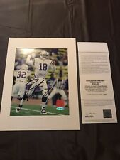 Peyton Manning Signed Autographed Indianapolis Colts 8x10  Photo UDA Broncos