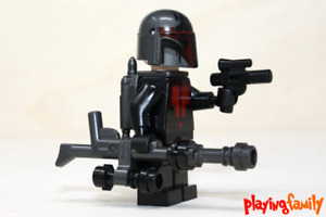 LEGO STAR WARS - Mandalorian Woman, Mandalorianerin aus LEGO®-Teilen - MOC