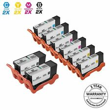 8pk Lexmark 100XL 100 XL 14N1068 14N1069 Ink Cartridge Set S305 S405 S301 Pro205