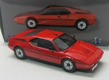 BMW m1 street (1978) rouge/NOREV 1:18
