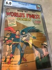 World's Finest Comics #71 CGC 6.0 1st Batman And superman Team Up