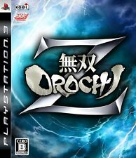 NEW Musou Orochi Z [Japan Import] Koei PS3 / Play Station 3