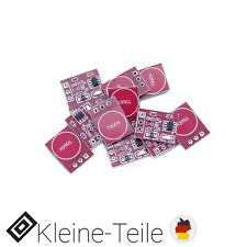 10x TTP223 Kapazitiver Touch Sensor Capacitive Schalter Arduino Raspberry Pi NEU