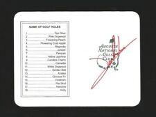 JON RAHM Signed/Autographed MASTERS Scorecard GOLF w/COA