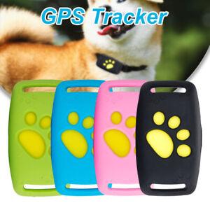 Haustier GPS Wasserdichter Tracker Hund Katzenhalsband Rückruffunktion & USB