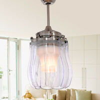 """42"""" Modern Ceiling Fan Light LED Chandelier Ceiling Fan Remote Control"""