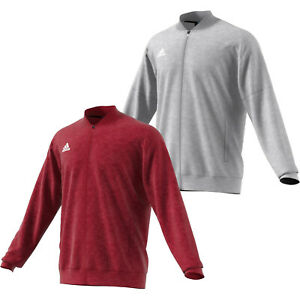 Mens Adidas Team Issue Bomber Jacket Fleece ClimaWarm Jacket NEW