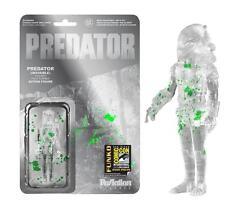 Predator SDCC Exclusivo sangre Salpicada Predator 9.5cm ReAction Figura Funko