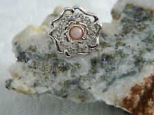 Clogau Sterling Silver & 9ct Rose Gold Tudor Rose Ring RRP £129.00 size J
