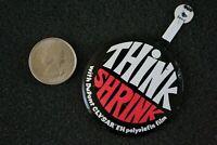 DuPont Clysar EH Polyolefin Film Think Shrink Wrap Foldover Pinback Button 22364