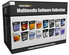 Multimedia Music Video Editing Website Design Software Program Bundle