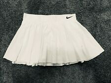 White Nike Court Victory Pleated Tennis Skirt